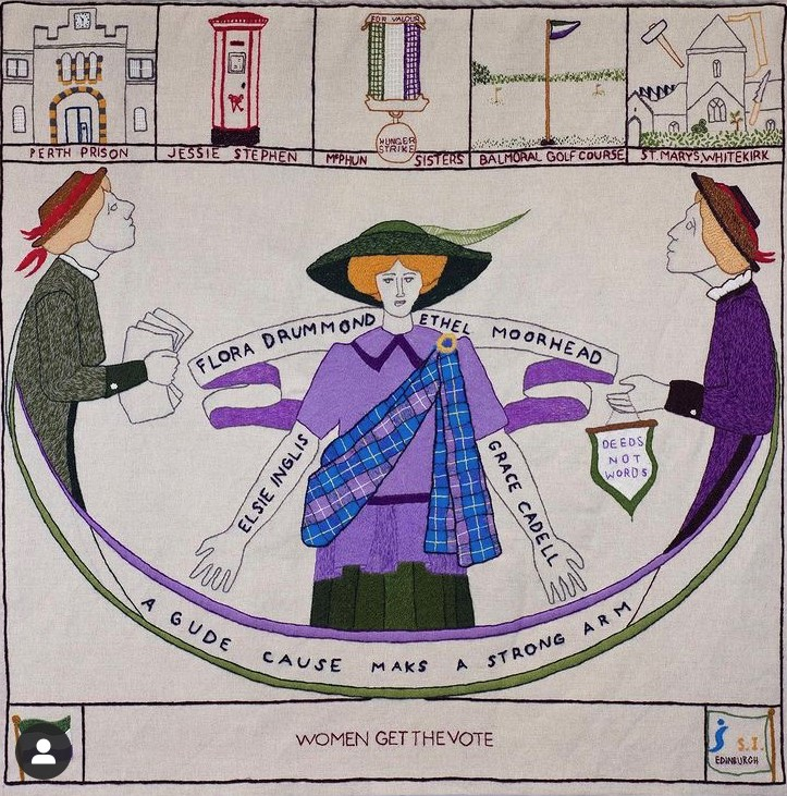 The Great Tapestry of Scotland – opening 26th August in Galashiels