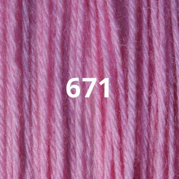 Bubble Gum Pink 671