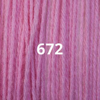 Bubble Gum Pink 672