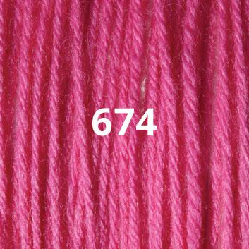 Bubble Gum Pink 674
